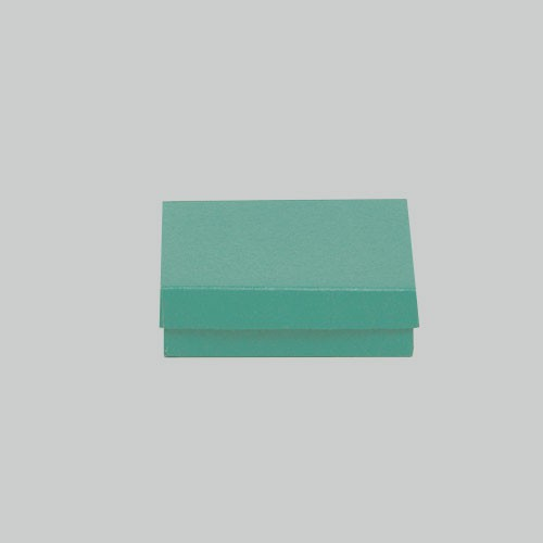 (#33) 3-1/2 x 3-1/2 x 1 MATTE JADE JEWELRY BOXES