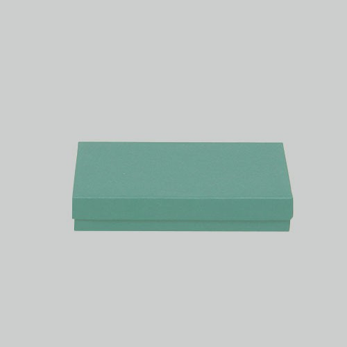 (#53) 5-1/4 x 3-3/4 x 7/8 MATTE JADE JEWELRY BOXES