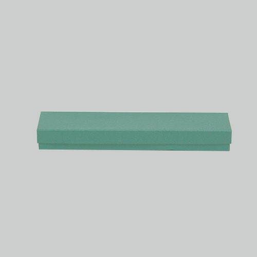 (#82A) 8 x 2 x 7/8 MATTE JADE JEWELRY BOXES