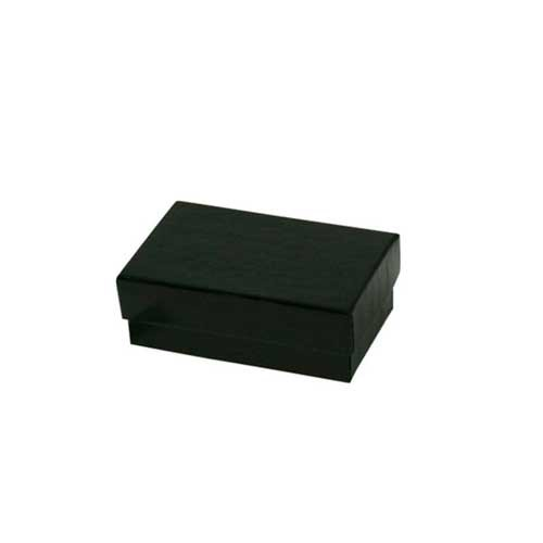 (#21) 2-1/2 x 1-1/2 x 7/8 BLACK GLOSS JEWELRY BOXES