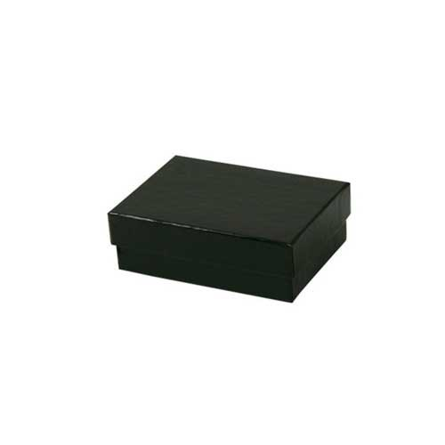 (#32) 3-1/6 x 2-1/8 x 1 BLACK GLOSS JEWELRY BOXES