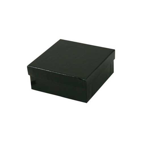 (#34) 3-1/2 x 3-1/2 x 2 BLACK GLOSS JEWELRY BOXES
