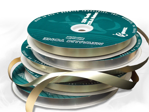 Ribbon - Metallic Roll Ribbon