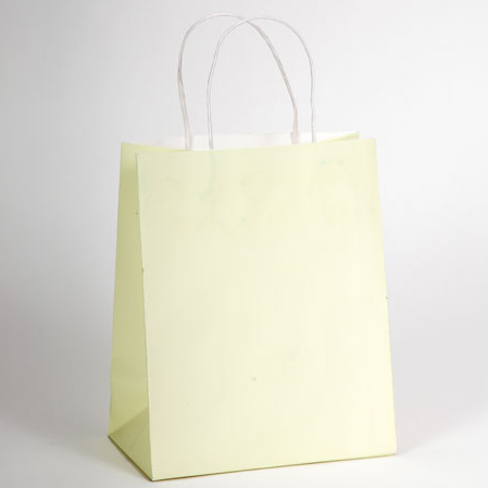 White Smooths Paper Shopping Bags