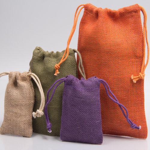 Natural Jute Pouches
