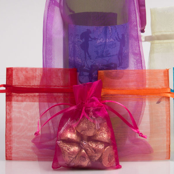 Sheer Organza Pouches