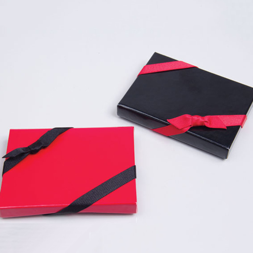Satin Stretch Loops for Gift Card Boxes