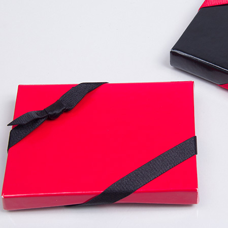Satin Stretch Loop Bows for Gift Card Boxes