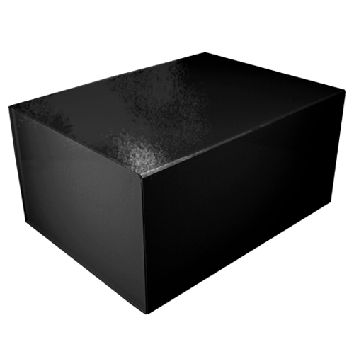 16 x 12 x 8 BLACK GLOSS MAGNETIC GIFT BOX