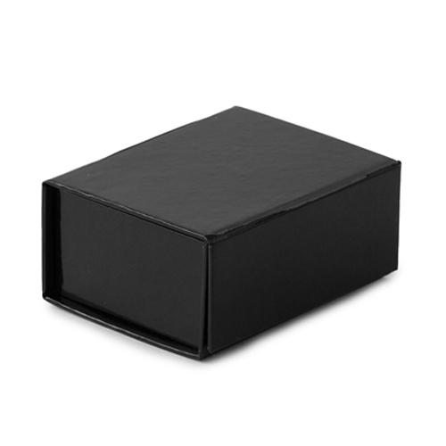 2-5/8 x 2 x 1-3/16 BLACK GLOSS MAGNETIC GIFT BOX
