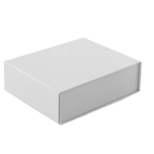 5-1/2 x 7 x 2 WHITE GLOSS MAGNETIC GIFT BOX