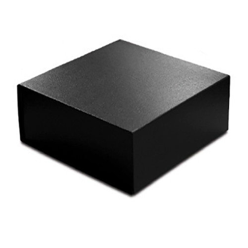 8 x 8 x 3 BLACK LEATHER MAGNETIC GIFT BOX