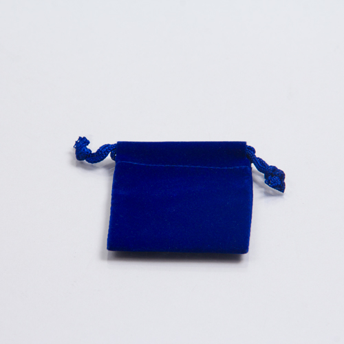 2 x 2.5 ROYAL BLUE VELVET DRAWSTRING POUCHES