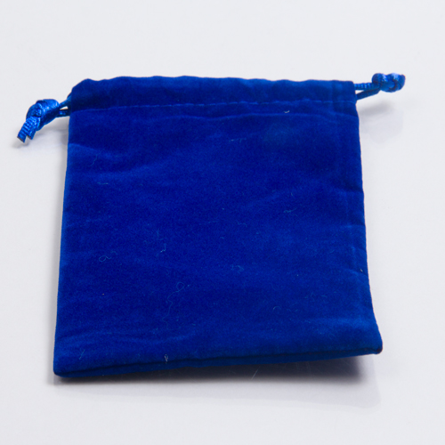 4 x 5 ROYAL BLUE VELVET DRAWSTRING POUCHES