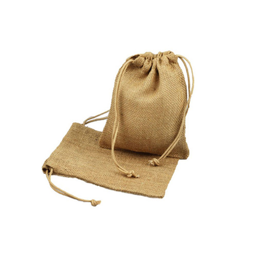 5 x 6 NATURAL DRAWSTRING JUTE POUCHES