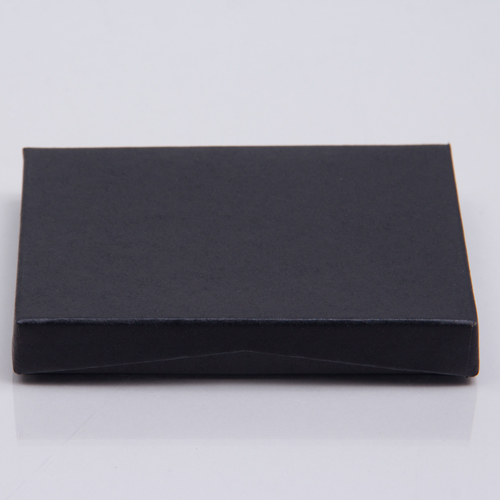 4-5/8 x 3-3/8 x 5/8 BLACK MATTE GIFT CARD BOX WITH PLATFORM INSERT