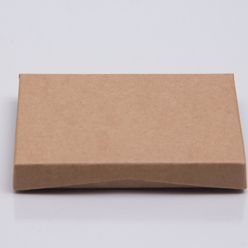 4-5/8 x 3-3/8 x 5/8 KRAFT GIFT CARD BOX WITH PLATFORM INSERT