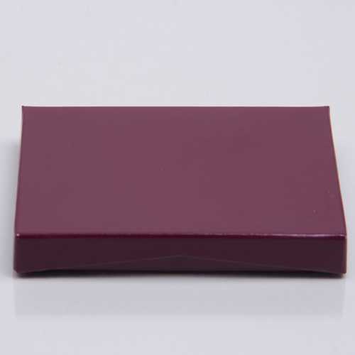 4-5/8 x 3-3/8 x 5/8 MERLOT ICE GIFT CARD BOX WITH PLATFORM INSERT