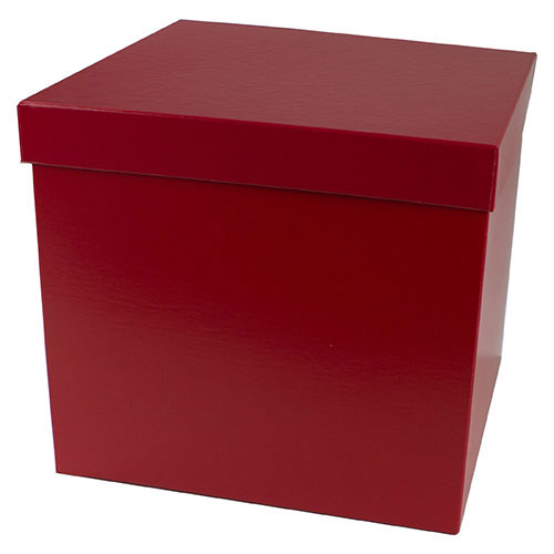 10 x 10 x 9 RED GLOSS HI-WALL GIFT BOX BASES