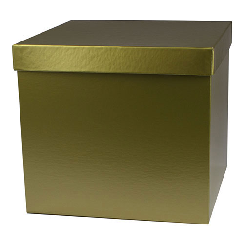 10 x 10 x 9 GOLD HI-WALL GIFT BOX BASES