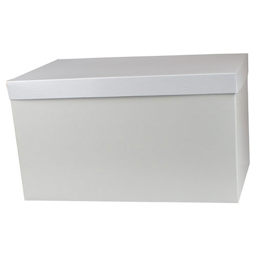 16 x 10 x 9 WHITE GLOSS HI-WALL GIFT BOX BASES