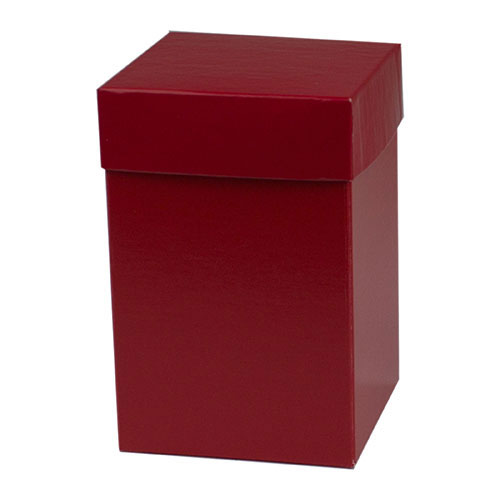 4 x 4 x 6 RED GLOSS HI-WALL GIFT BOX BASES