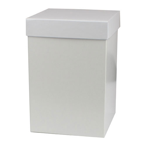 6 x 6 x 9 WHITE GLOSS HI-WALL GIFT BOX BASES