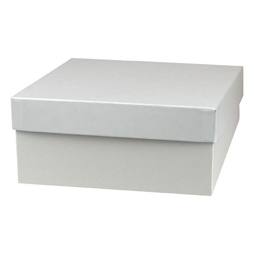 10 x 10 x 6 WHITE GLOSS HI-WALL GIFT BOX BASES