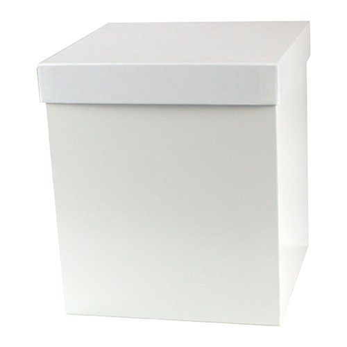 8 x 8 x 9 WHITE GLOSS HI-WALL GIFT BOX BASES