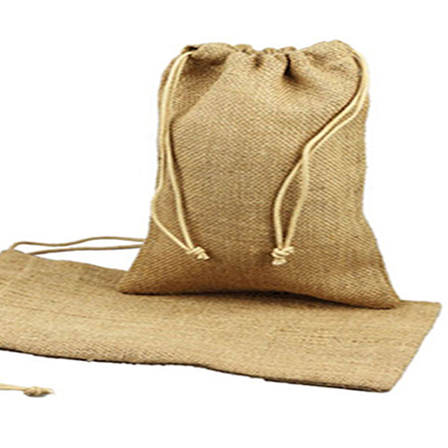 12 x 14 NATURAL DRAWSTRING JUTE POUCHES