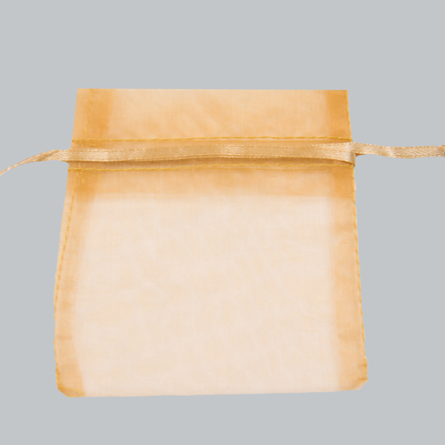10 x 12 ORGANZA BAG - GOLD