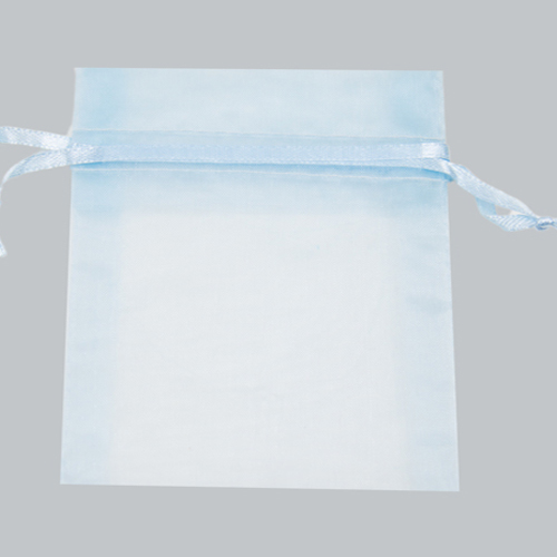 12 X 14 ORGANZA BAG-LIGHT BLUE
