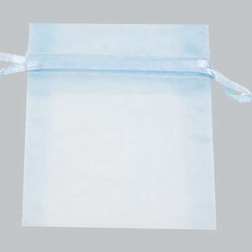22 X 25 ORGANZA BAG-LIGHT BLUE
