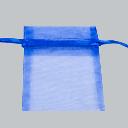 12X14 ROYAL BLUE ORGANZA POUCHES