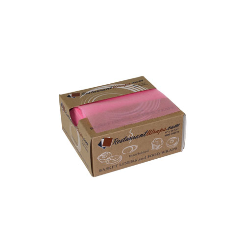 6 x 10.75 BAKERY PICK UP TISSUE SHEETS - STRAWBERRY