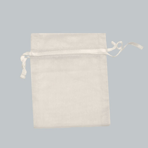 2X2.25 WHITE SHEER ORGANZA POUCHES