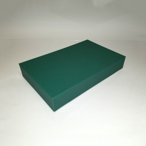24X14X4 FOREST GREEN APPAREL BOX