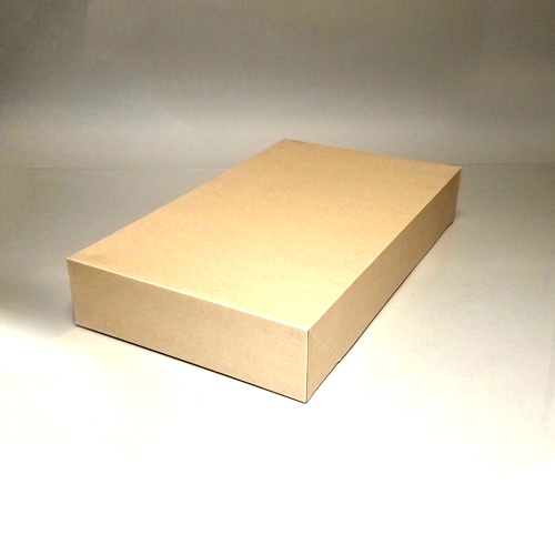 24X4X14 MATTE OATMEAL APPAREL BOX
