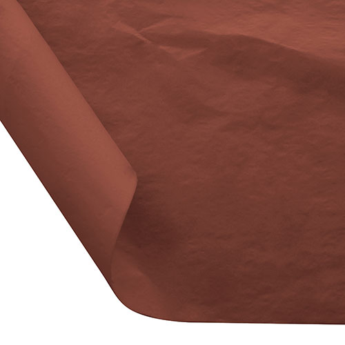 12 x 12 FOOD SAFE TISSUE BASKET LINERS 18# DRY WAX - CINNAMON