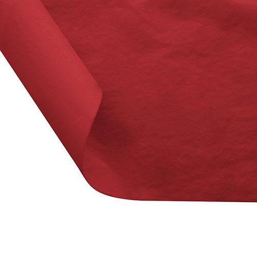 12 x 10.75 FOOD SAFE TISSUE BASKET LINERS 18# DRY WAX - CHERRY RED