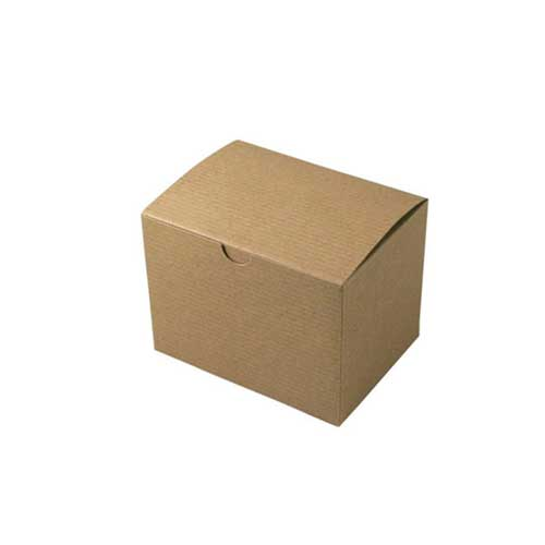 6 x 4.5 x 4.5 NATURAL KRAFT TUCK-TOP GIFT BOXES