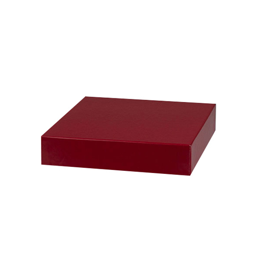 6 x 6 RED GLOSS HI-WALL BOX LIDS