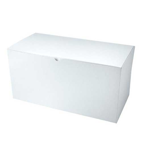 12 x 6 x 6 WHITE GLOSS TUCK-TOP GIFT BOXES