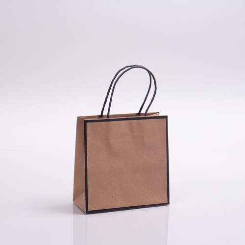 7 x 3 x 7 CHELSEA KRAFT PAPER SHOPPING BAGS