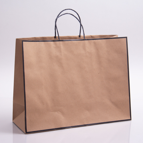 16 x 6 x 12 CHELSEA KRAFT PAPER SHOPPING BAGS