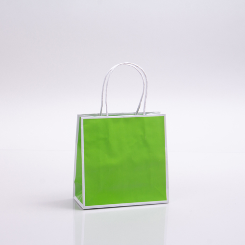 7 x 3 x 7 CITRUS PAPER SHOPPING BAGS