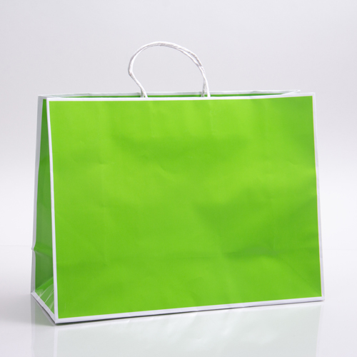 16 x 6 x 12 CITRUS PAPER SHOPPING BAGS