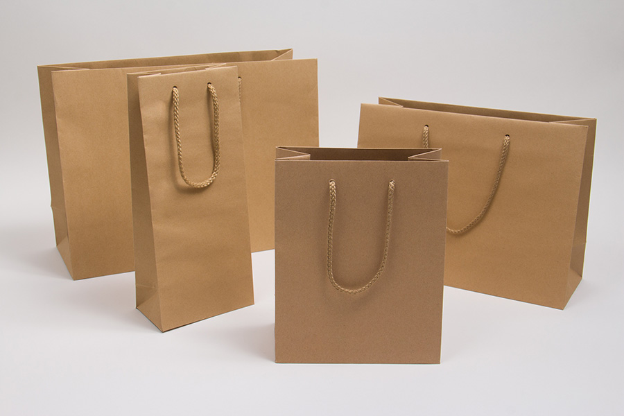 MC - Eurotote Shopping Bags - Natural Kraft