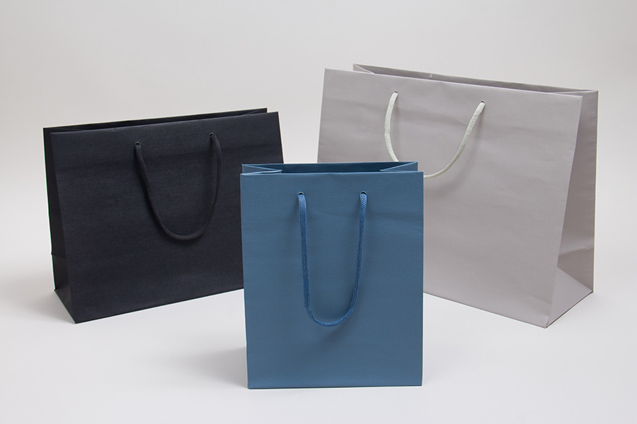 MC - Eurotote Shopping Bags - Gaia Paper Rope Handled
