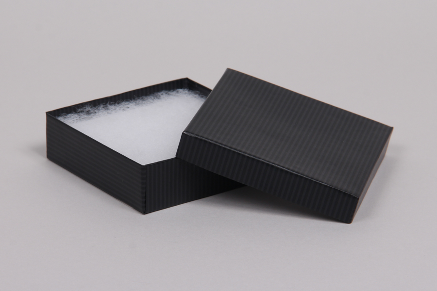 20 count Cotton Filled Presentation Boxes Pearl White Bracelet Box